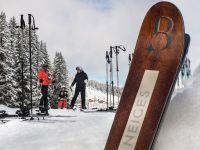 Accès ski aux pieds