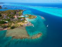 vue aérienne Resort