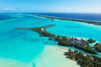 Vue aérienne St. Regis Bora Bora Resort