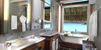 Villa sur pilotis, la salle de bain