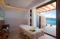 Spa treatment room & terrace