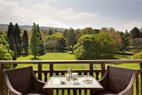 H�tel Royal - Vue terrasse parc