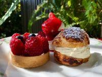 Une sélection de notre charriot de dessert