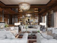 Ultima Crans Montana Living Room