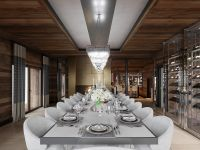 Ultima Crans Montana Dining Room