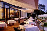Terrasse du restaurant gastronomique