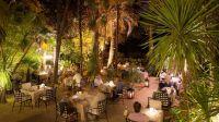 Le restaurant gastronomique La Palmeraie