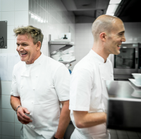 Chef Gordon Ramsay et Chef Gilad Peled