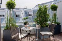 Terrasse d'une Suite au Burgundy