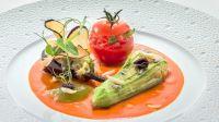 Petits farçis de légumes du pays - Restaurant gastronomique Eden-Roc
