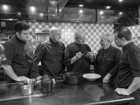 Les Chefs en cuisine