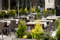 Restaurant Le Plëss terrasse