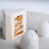 Mille feuilles blanc
