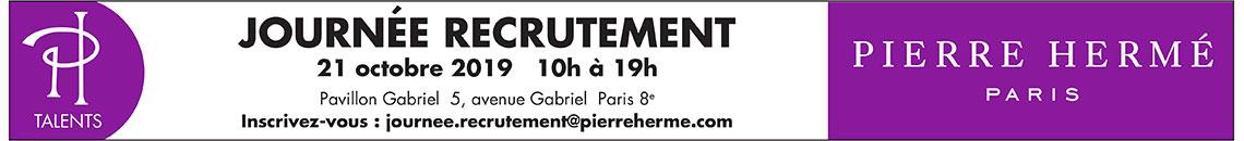 Journée de recrutement Pierre Hermé Paris