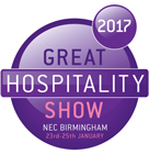 logo great hospitality show 2017