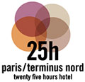 25 Hours H�tel Terminus Nord