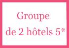 Groupe de 2 hôtels 5* Verbier Suisse