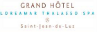 Grand H�tel Thalasso & Spa SAINT JEAN DE LUZ France